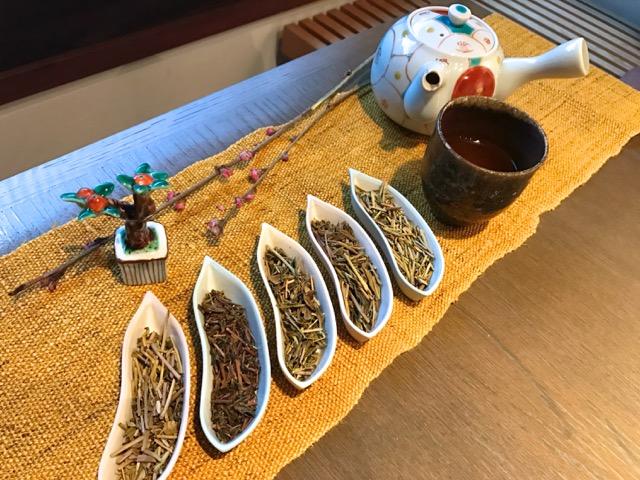 琥珀色のうつろい ほうじ茶五種