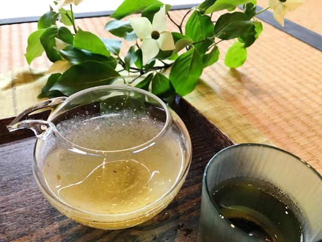 「メイリョク」の水出し焙じ茶
